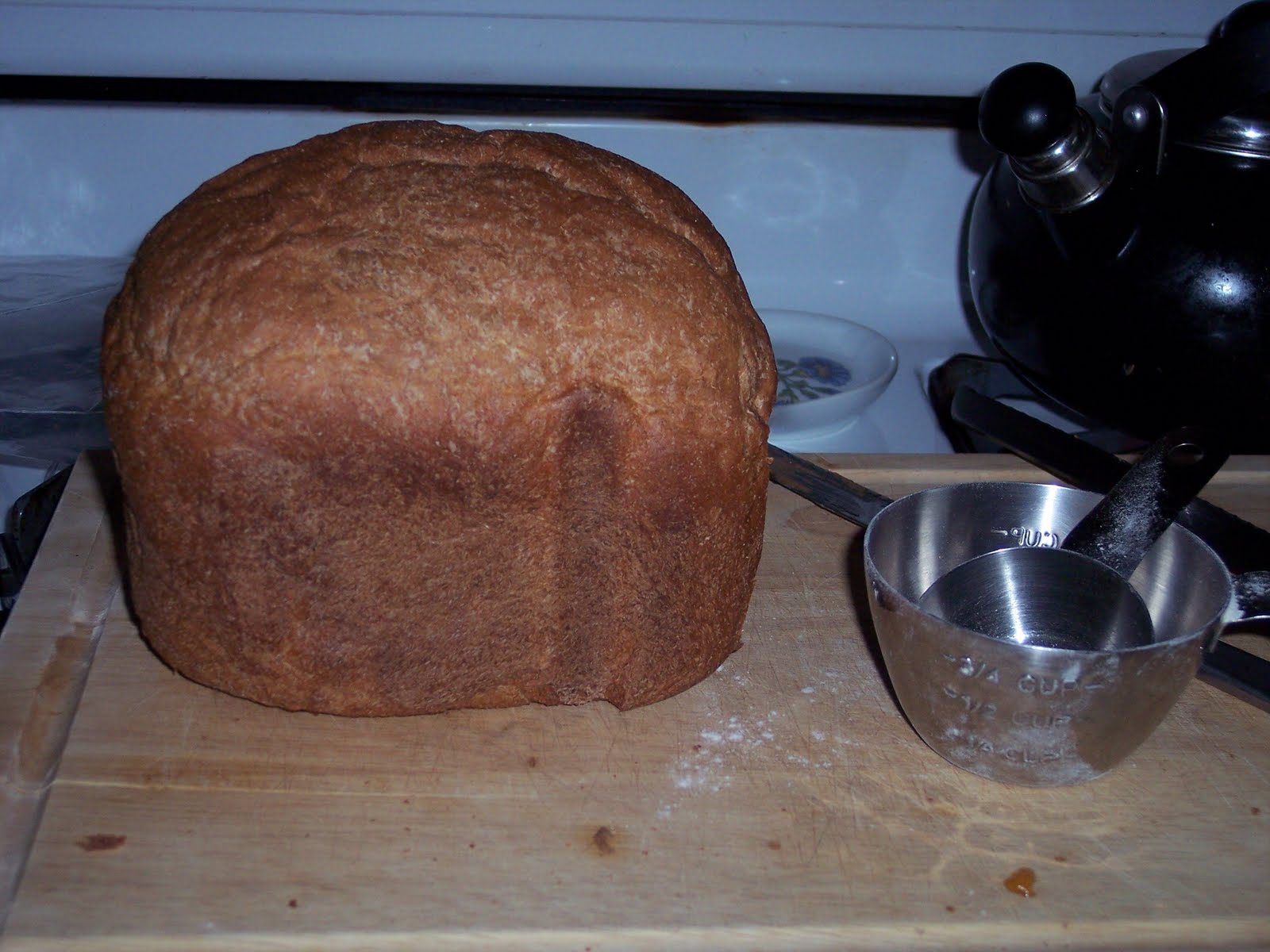 bread machine whole wheat flour