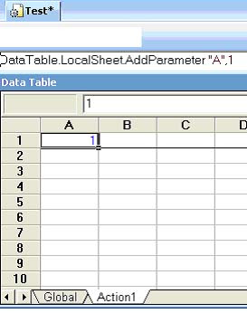 Qtp tutorials interview questions qtp writing to datatable for Html datatable