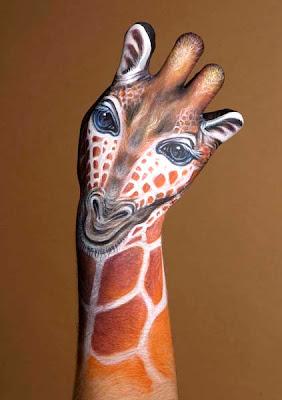 Amazing Hand Art 7