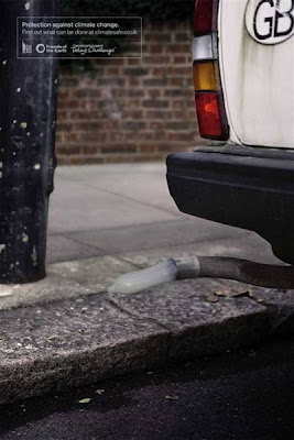 Clever and Creative Advertisements Inspired by Vehicles' Exhaust Pipes (9) 9