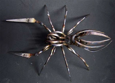 Sculptures Created From Scissors (14) 9