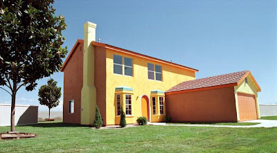 simpsons house frontal view