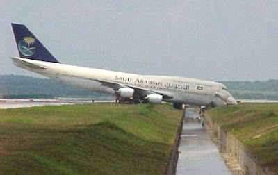 Saudi Arabian airliner gone way too wrong