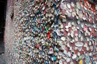 Gum Wall, Post Alley, Seattle (7) 4