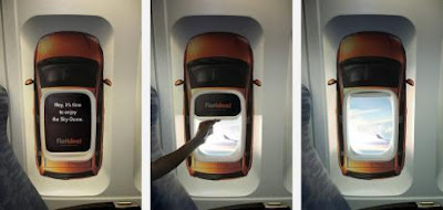 Fiat: Airplane window