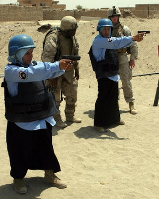 Female Iraqi Police Officers