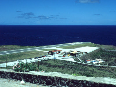 Saba's Yrausquin Airport -World's Shortest Commercial Airport Runway (8) 8