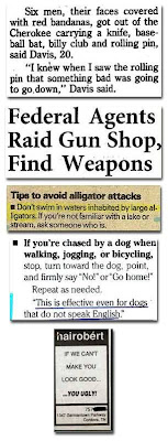 Interesting And Funny Newspaper Clippings (16) 9