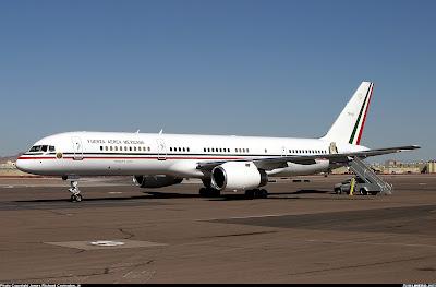Mexico's President plane