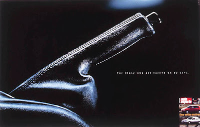 advertisement by Auto Esporte: For those who get turned on by cars.