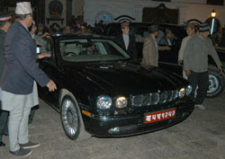 Official State Car nepal King Gyanendra