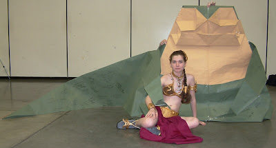 Life Size Origami Jabba the Hutt (2) 1