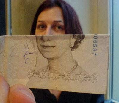 Illusion created using banknotes (11) 6