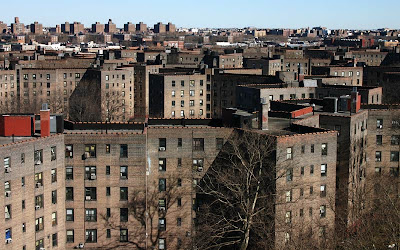 Queensbridge Houses, the largest in NYC 