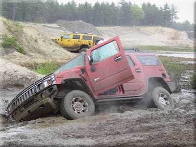 Vehicles in mud (11) 2