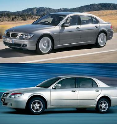 BMW 7 vs BYD F6