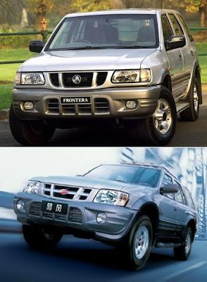 Vauxhall Frontera vs Landwind