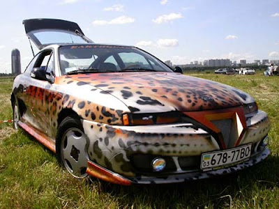 Custom Painted Cars (18) 12