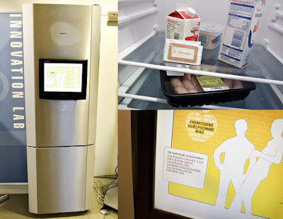 World's Very First Intelligent Refrigerator