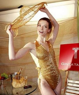 24 Carat Gold Swimwear from Japan