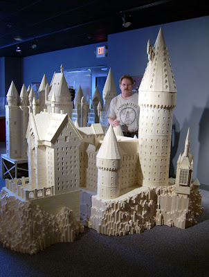 Matchstick Marvel of Harry Potter's Hogwarts 7