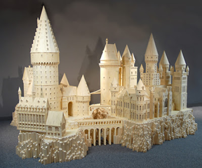 Matchstick Marvel of Harry Potter's Hogwarts