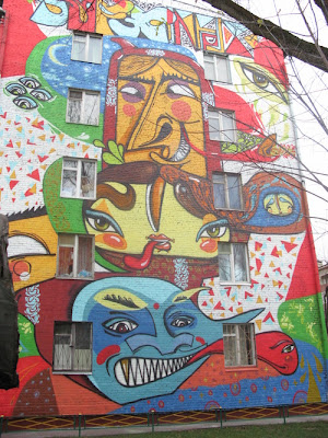 Painting on Buildings 8