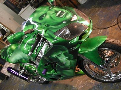 Custom Painted Bikes (15) 8