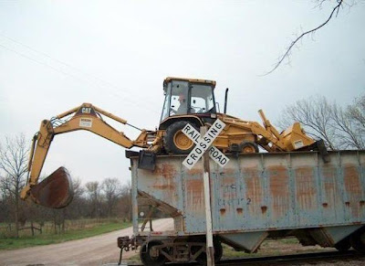 heavy machinery doing acrobatics (5) 5
