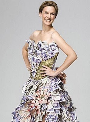 Dress Made With $100,000 Dollars