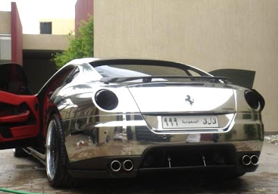 Chrome Ferrari (2) 2