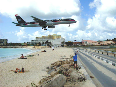 Maho Beach And Its Low Flying Planes (10) 8