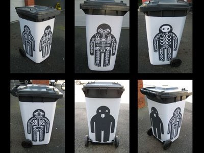 Woodstock's Five Black Bins (6) 1