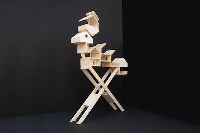 A Table: Bird House Sculpture (4) 1