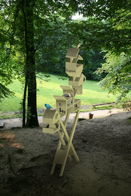A Table: Bird House Sculpture (4) 4