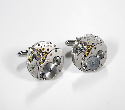 Handmade Luxury Designer Watch Cufflinks (9)  4