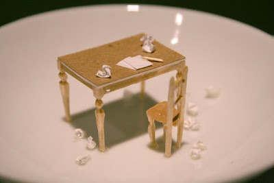 Sculptures Created With Paper And Toothpicks (5) 1