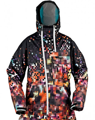 Pixelated Waterfall Jacket (3) 3