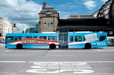 Creative and Clever Bus Advertisements - Part: 2 (10) 1
