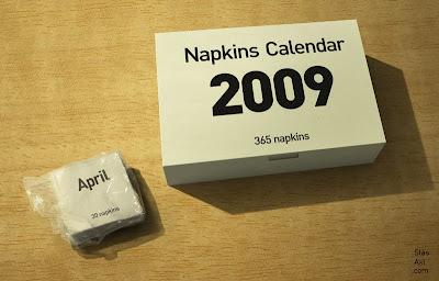 Napkins Calendar (3) 1