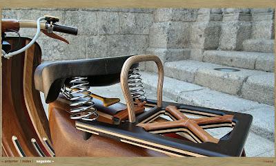 Wooden Vespa (5) 5