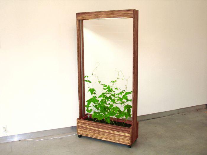 41 cool flowerpots and creative planters for Indoor garden room furniture