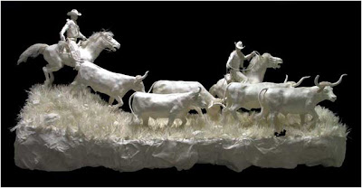 Cast Paper Sculptures (3) 1