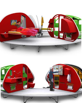 252&#176; Living Area: Mobile Mini House (6) 4