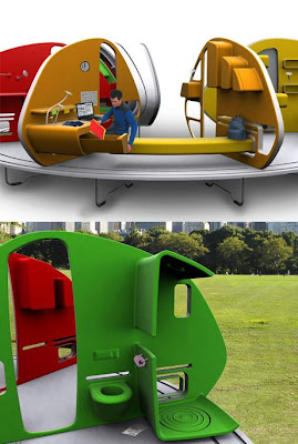 252° Living Area: Mobile Mini House (6) 6