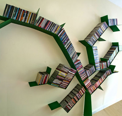 Creative and Stylish Bookshelf Designs- Part: 5 (12) 6
