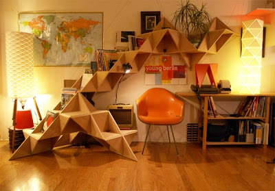 Triangle shelf