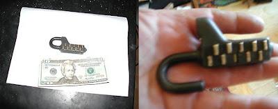 Vintage Combination Lock