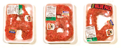 Alphabet Made Of Raw Hamburger (2) 1