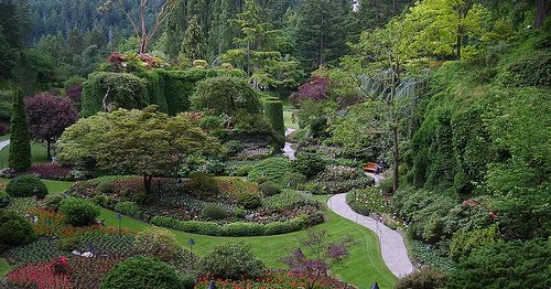 The butchart gardens - What time does victoria gardens close ...
